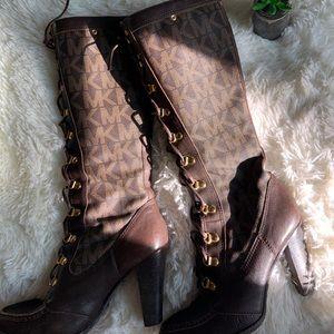 Vintage Michael Kors lace up boots